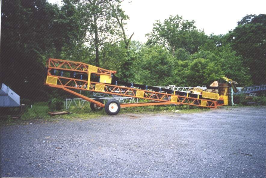 Radial Stacker with Folding Head