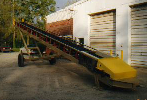 "PSC Pit Portable 30""x50' Radial Stacker"