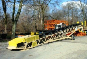 PSC Pit Portable 30x50' Radial Stacker