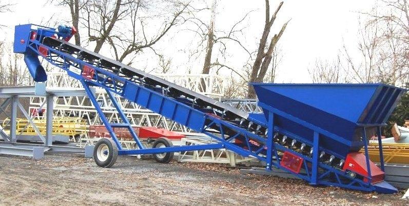 36x50' 9cycl Loader Hopper