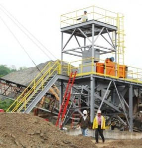 Dewatering Screen Tower